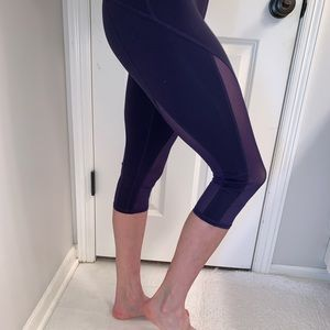 All cropped leggings